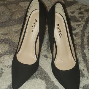 NWT Just Fab black high heels